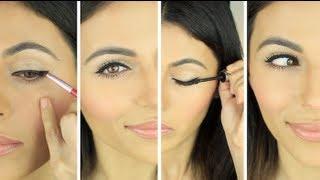 How To Apply Eyeliner - Simple Eyeliner Look | Eye Makeup Tutorial | Teni Panosian