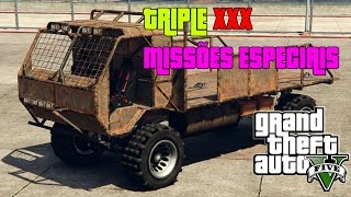 GTA V Online : IMPORT & EXPORT | TRIPLE XXX MTL Wastelander