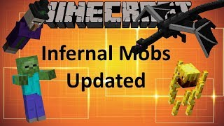 INFERNAL MOBS UPDATED - MINECRAFT 1.12 (MOD SHOWCASE)