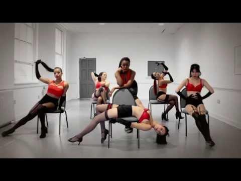 Jolie's Angels - Sexy Silk  (Dance Routine)