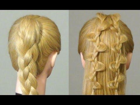 Причёски из 4 прядей
