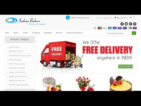 Online Cake Delivery Services For All Cities In India - Indianbakers.com
