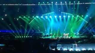 Das letzte Lied auf der Welt - Fettes Brot @ Veltins Arena Gelsenkirchen 10.10.2015 Stock Car Crash