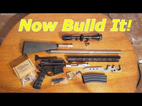 AR 15 Beginners Guide What parts do you need to build a rifle.