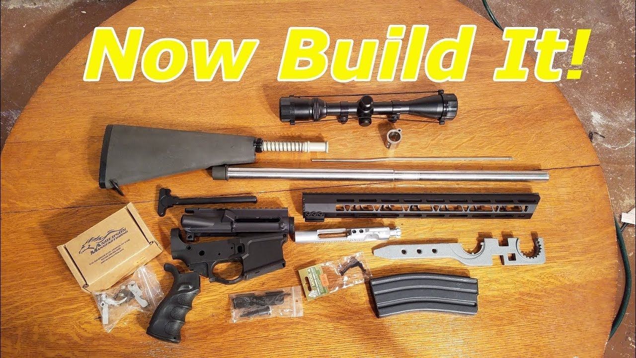 AR 15 Beginners Guide (What parts do you need to build a rifle )