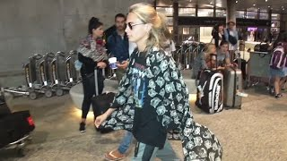 Supermodel Cara Delevingne Turns Heads At LAX