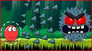 Анимация Новый несносный красный шарик 4 защищается от Босса.Red Ball 4 от котика Браяна про шар