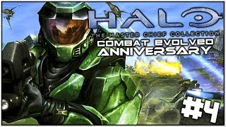 Let's Play: Halo: Combat Evolved (Master Chief Collection) | #4 | The Entire Saga!