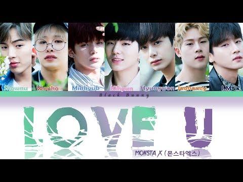 MONSTA X (몬스타엑스) – Love U (Color Coded Lyrics /Eng)