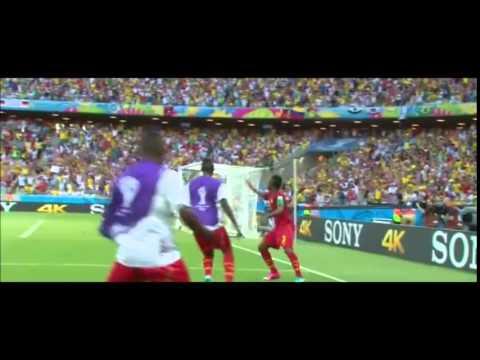 Asamoah Gyan(World Cup 2010-2014 goals)