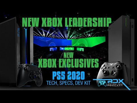 NEW Xbox Boss! HUGE Xbox Exclusive Info Leaks, PS5 News! NO COD Clack Ops 4 Single Player, Xbox News