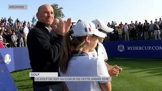 Golf : la Ryder Cup au cœur de cette année 2018