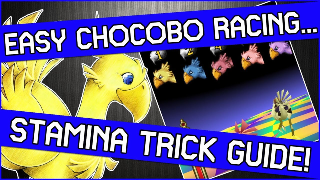 ff7 chocobo racing betting guide