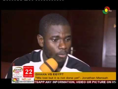 Reaction from Black Stars camp after clash with Egypt - 14/11/2016