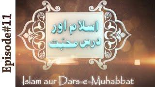 Repeat youtube video Islam aur Dars e Mohabbat Ep11 - Hazrat e Hasnain Karimain Kay Fazail | Madani Channel