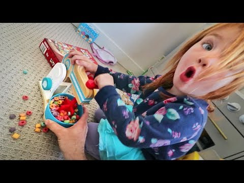Family Morning Routine - What we do Before Breakfast in the Ultimate Toy Room!!