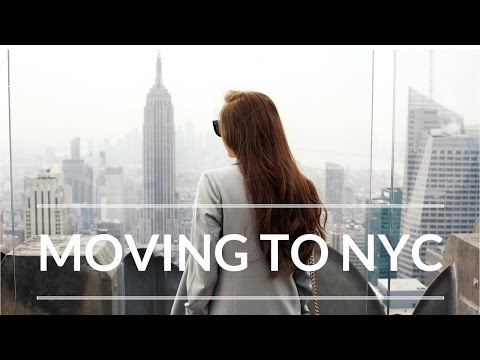 HOW I MOVED TO NYC + ADVICE & TIPS - Visas, Internships & Ap