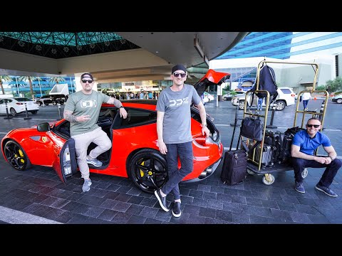 WE RENTED A CHEAP LAS VEGAS FERRARI RENTAL CAR  *Only $499*
