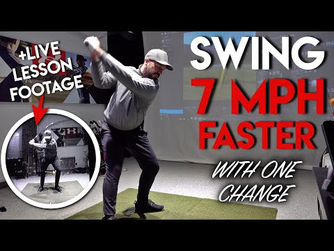 How To Swing 7 mph FASTER with ONE CHANGE!