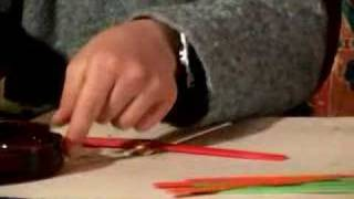 Crafts for Kids: How to Make Air Toys : How to Glue the Wings for a Toy Airplane: Part 2