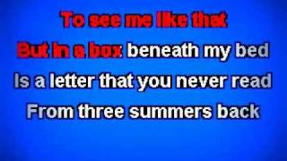 Tim Mcgraw by Taylor Swift Karaoke