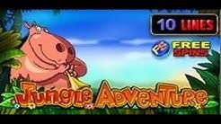 Jungle Adventure - Slot Machine - 10 Lines + Bonus