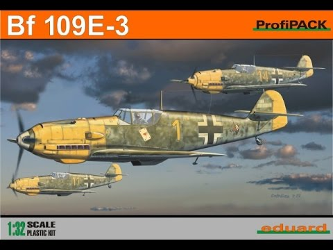 Eduard 1/32 Messerschmitt BF109E-3 - Part 6 (Decalling + Weathering)