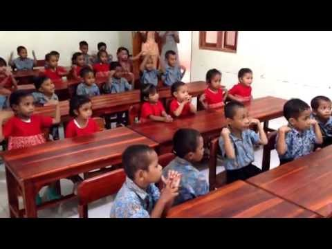 Roslin Orphanage School - Kupang, Timor. Video by Pia Jessen.