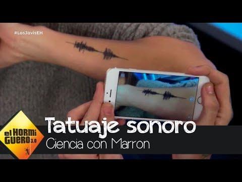 Crean el tatuaje sonoro, capaz de emitir sonidos con una gráfica musical - El Hormiguero 3.0