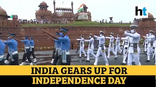 Watch: Full dress rehearsal at Red Fort ahead of 74th Independence Day