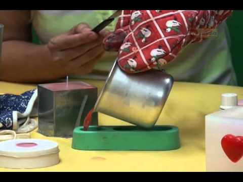 Programa Leoa - Artesanato -Velas