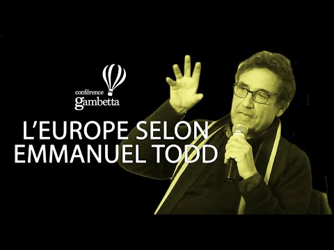 Emmanuel Todd - L'Europe selon Todd (Arnaud Montebourg en bonus)
