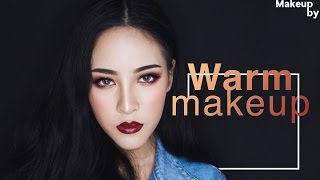 [How to]Warm makeup แต่งหน้าโทนร้อน | By Soundtiss