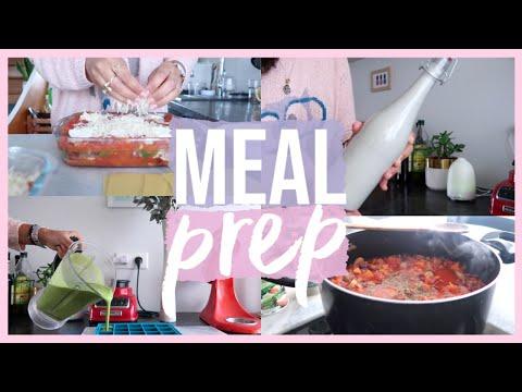 HEALTHY MEAL PREP   Idées de Repas Pour La Semaine