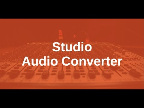 Audio Converter for High Resolution Music Files