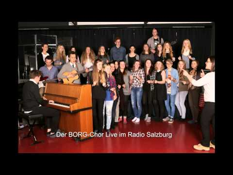 Der BORG Chor Live im Radio Salzburg
