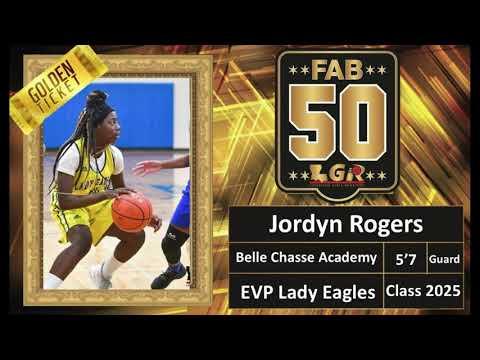 Jordyn Rogers (Belle Chasse Academy 2025 SF) - LGR Fab 50 Highlights