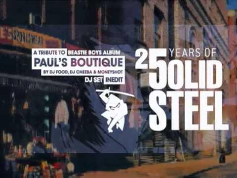 DJ Food, DJ Moneyshot, DJ Cheeba '3-Way mix' trailer 16.11.2013