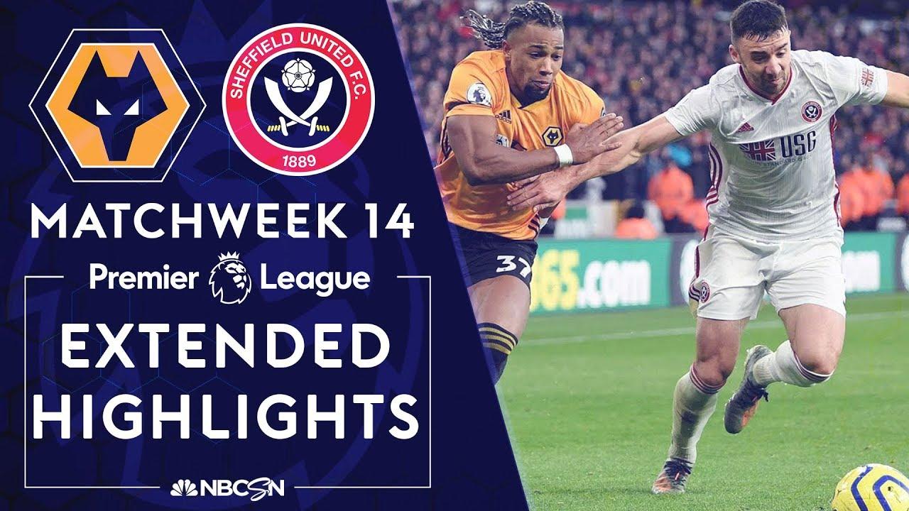 Wolves V Sheffield United Premier League Highlights