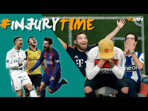 Will Arsenal beat Bayern!? Can Leicester cause a champions league upset!? | 90min #injuryTime