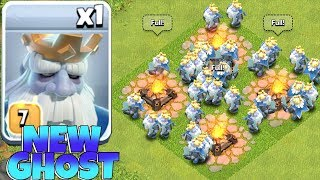 "NEW ROYALE GHOST TROOP!! ""Clash Of Clans"" HOW TO USE HIM!?!"