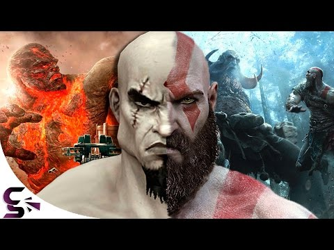 The Evolution Of Graphics: Playstation - God Of War (2005-2016)