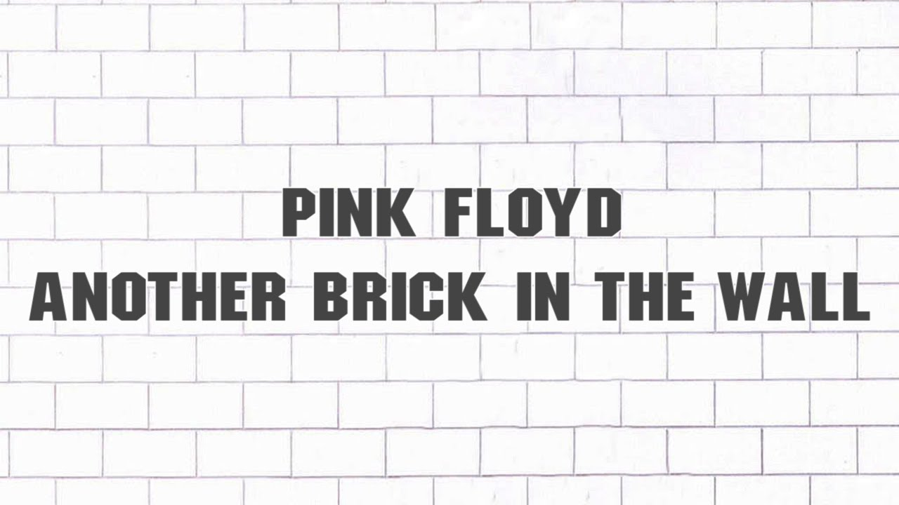another brick inthe wall
