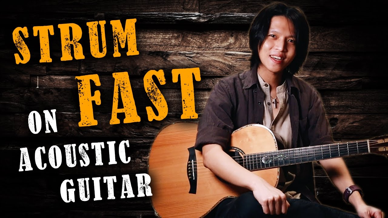 How to Strum Fast on Acoustic Guitar (EPIC Flamenco Techniques!)