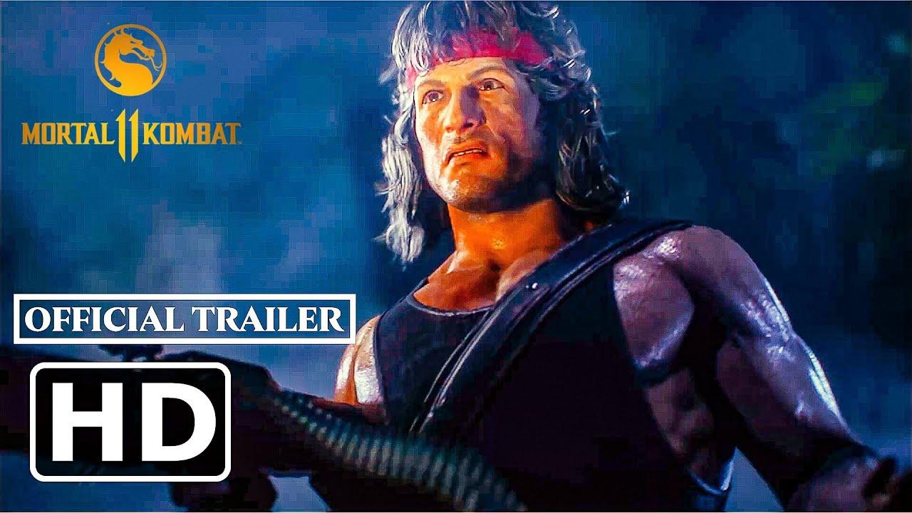 Download Mortal Kombat 11 Ultimate - RAMBO - Kombat Pack 2 and Reveal Trailer   PS4, PS5   HD