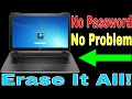 FACTORY RESET Computer without Password | How To | Get Fixed