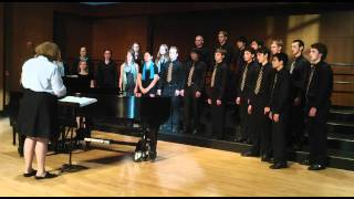 "Northfield Mount Hermon Singers perform ""Going for Water: by Ronald Perera"
