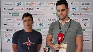 Entrevista a Bittor Alkiza, segundo entrenador del C. A. Osasuna | C. A. Osasuna vs Villarreal C. F.