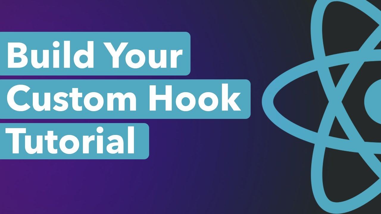 Create A Custom Hook in React | React Hooks Tutorial