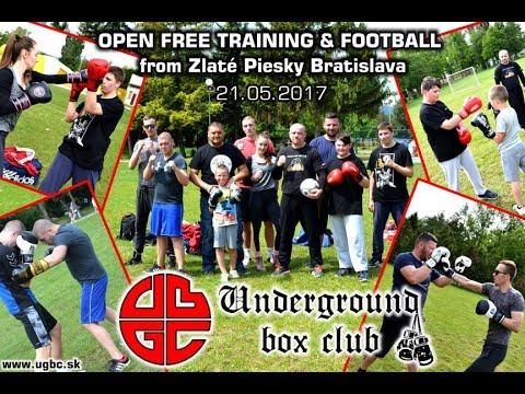OPEN FREE BOX TRAINING :::: Zlaté Piesky Bratislava ::: Underground box club Bratislava